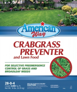 American Way Crabgrass Preventer 14lbs