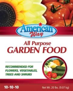American Way Garden Food 20lbs