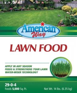 American Way Lawn Food 14lbs