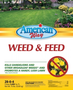 American Way Weed&Feed 15lbs