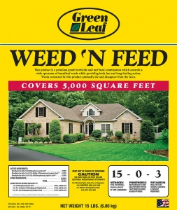Green Leaf Weed 'N Feed 15lbs