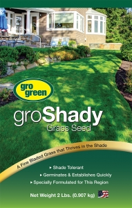 Gro Green GroShady Grass Seed 2lbs