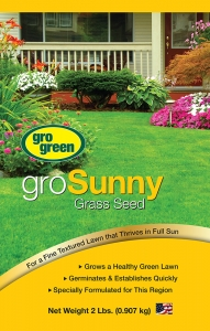 Gro Green GroSunny Grass Seed 2lbs
