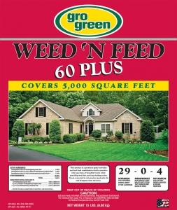 Gro Green Weed 'N Feed 60 Plus 15lbs