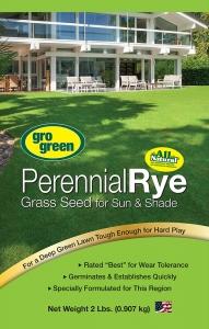 Gro Green Perennial Rye Grass Seed 2lbs