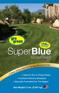 Gro Green Super Blue Grass Seed 2lbs