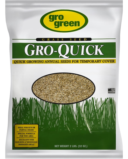Gro Green Gro Quick Grass Seed - 2 lbs - Single Bag