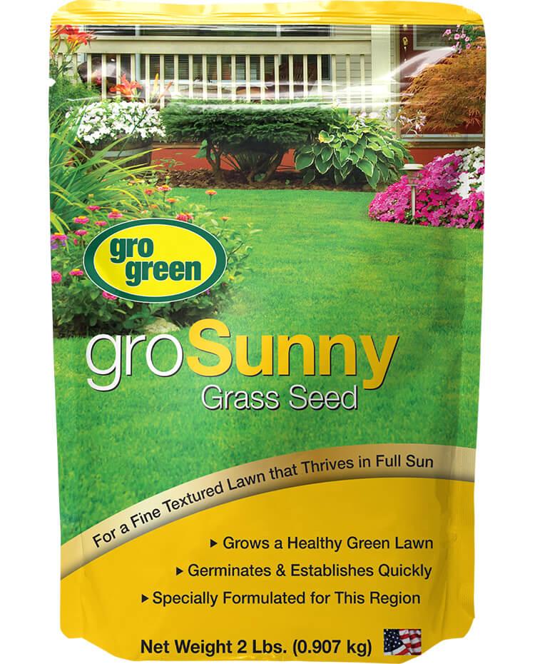 Gro Green groSunny Grass Seed - 2 lbs